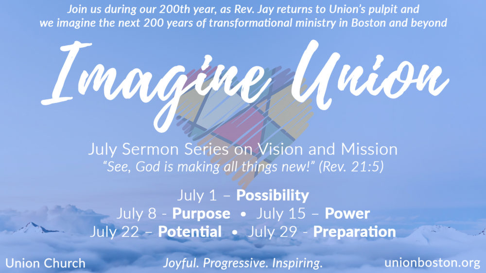 Imagine Union (July 2018)