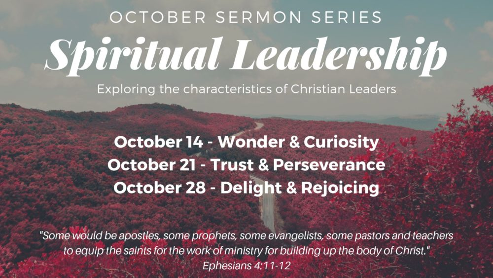 Spiritual Leadership (Oct 2018)